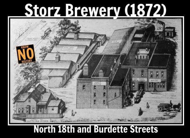 Storz Brewery, North 18th and Burdette Streets, North Omaha, Nebraska