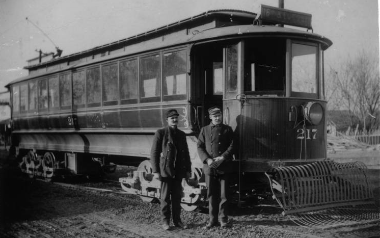 Circa 1890s, this streetcar took riders from North 16th and Locust Street to 39th and Q Street.