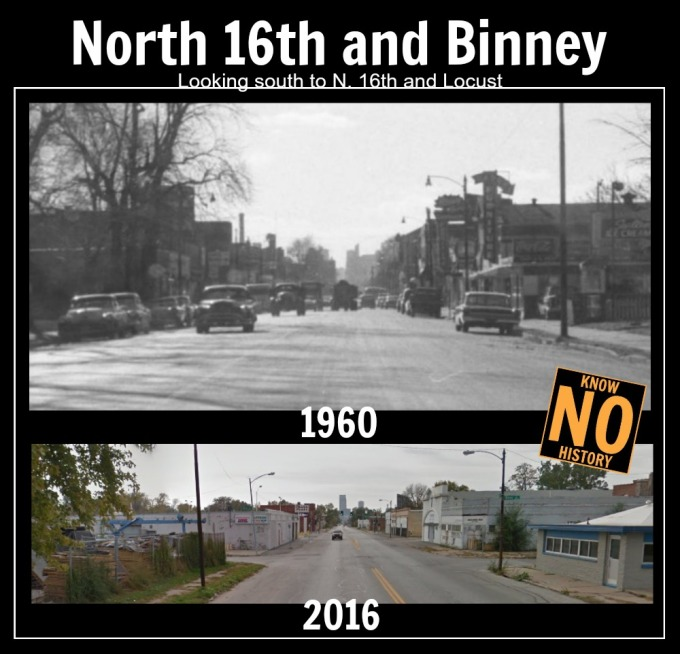 N. 16th and Binney, North Omaha, Nebraska