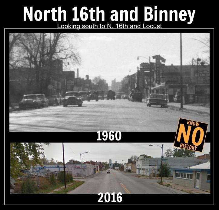 N. 16th and Binney, North Omaha, Nebraska