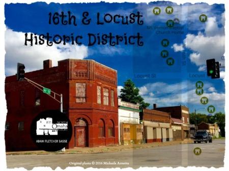 16th and Locust Historic District, North Omaha, Nebraska