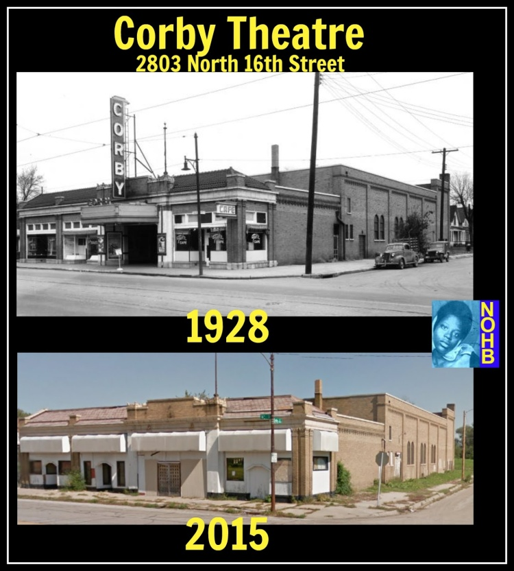 Corby Theater, 2803 North 16th Street, North Omaha, Nebraska