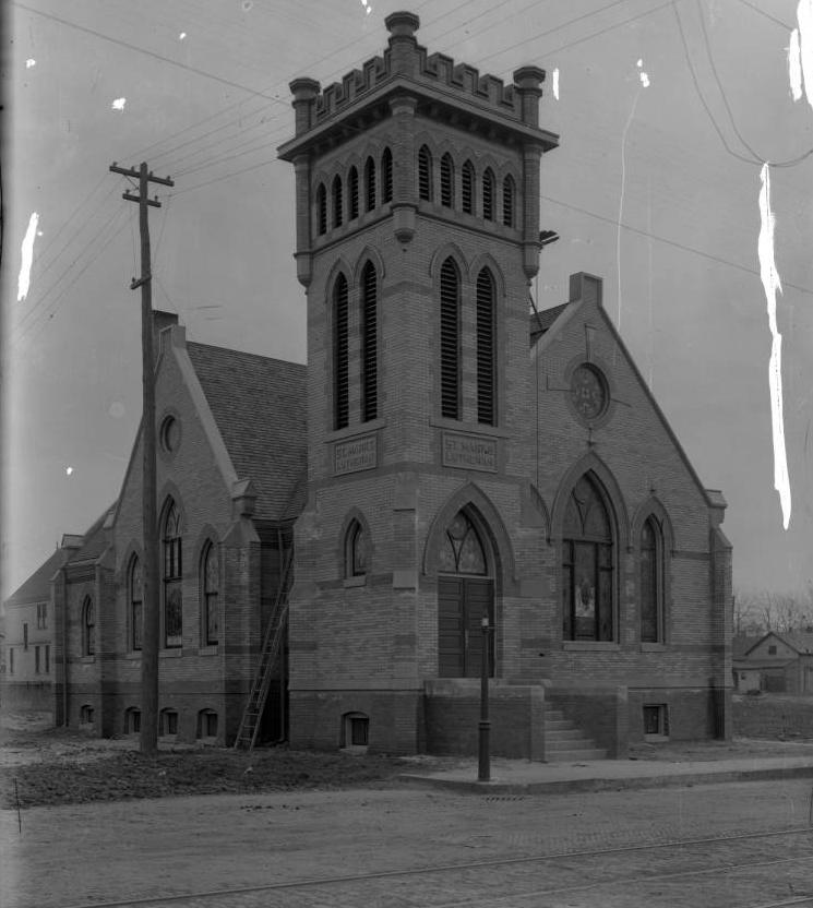 St. Mark's Lutheran Church, 2053 N. 20th Street, North Omaha, Nebraska