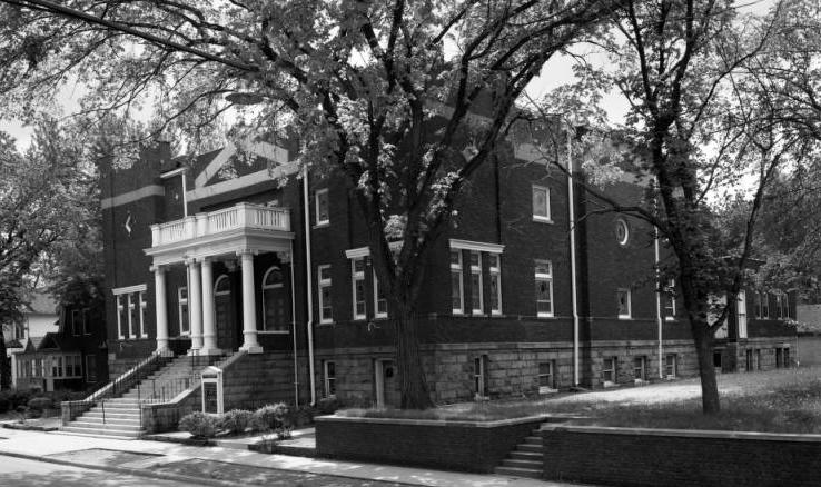 Zion Baptist Church, 2215 Grant Street, North Omaha, Nebraska