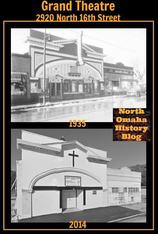 Grand Theater, 2920 North 16th Street, North Omaha, Nebraska