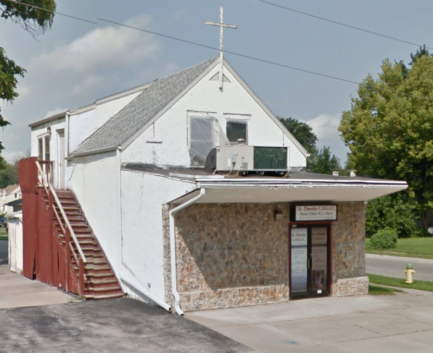 St. Timothy Church of God in Christ, 5720 N. 24th Street, Miller Park neighborhood, North Omaha, Nebraska