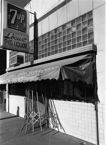 Locust Street Liquor Store, North Omaha, Nebraska
