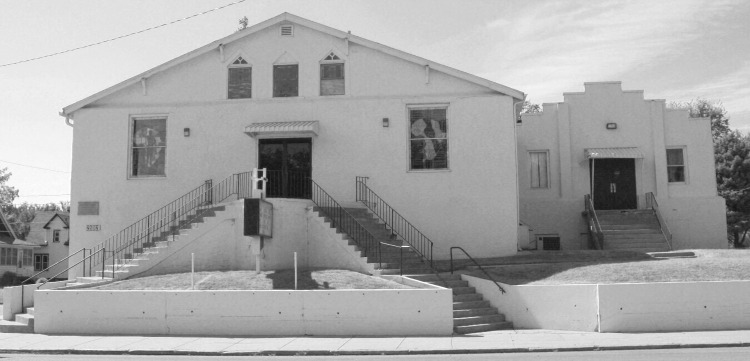 This is Mount Moriah Baptist Church in the early 2010s. The front entrance is different now.