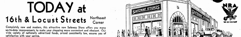 Safeway, N. 16th and Locust, North Omaha, Nebraska