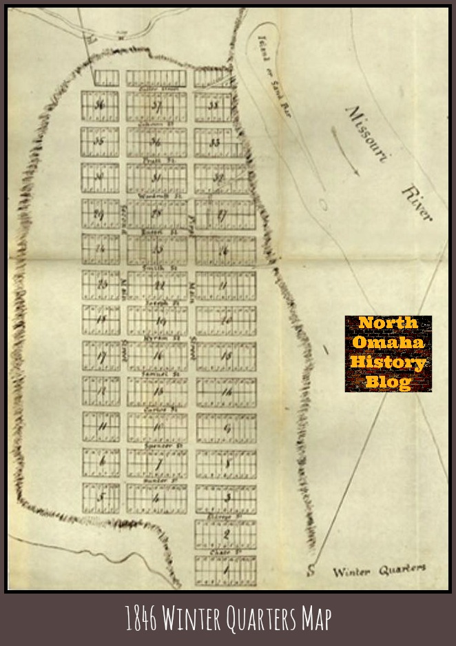 1846 Winter Quarters map