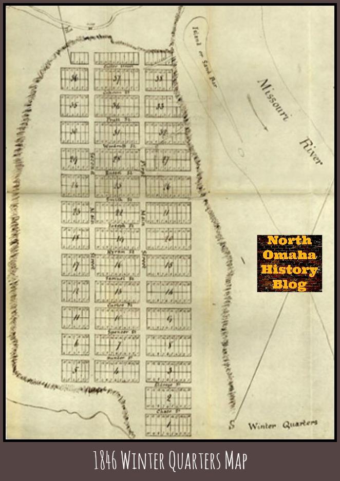 1846 Winter Quarters map