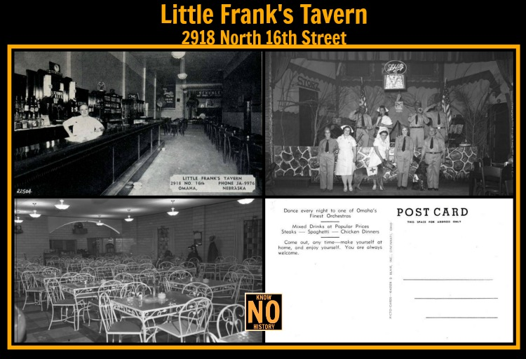 Little Frank's Tavern, 2918 North 16th Street, North Omaha, Nebraska