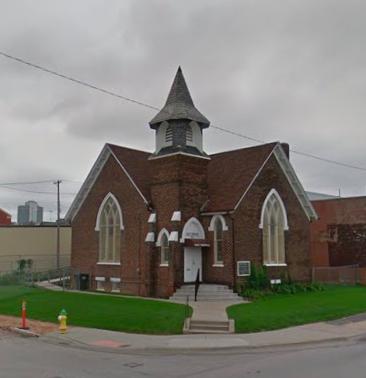 First German Presbyterian Church, North 18th and Cuming Streets, North Omaha, Nebraska