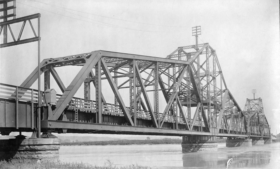 Illinois Central Railroad East Omaha Bridge