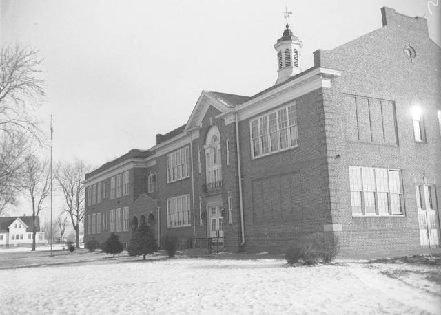 Pershing School, 3009 28th Street East, East Omaha, Nebraska