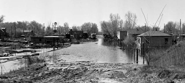 1952 East Omaha flooding