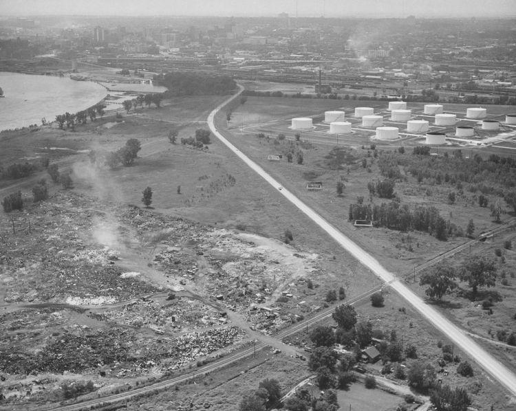 East Omaha dump, Nebraska and Iowa