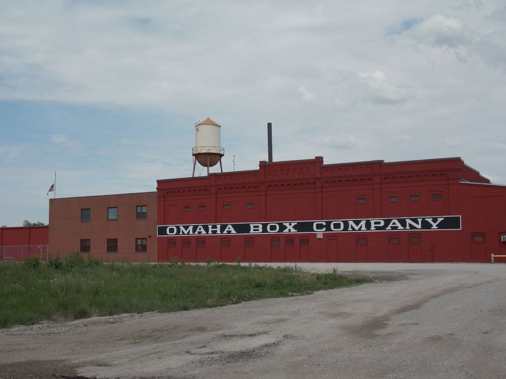 Omaha Box Company, East 21st and Ave H, East Omaha, Nebraska