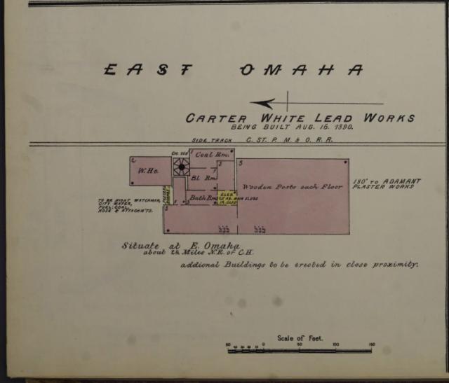 Carter White Lead Works, East Omaha, Nebraska