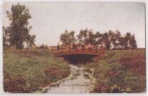 """Bridge in Miller Park, Omaha, Neb."""