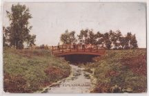 """Bridge in Miller Park, Omaha, Neb."""