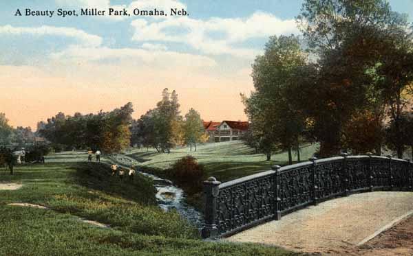 """""""A Beauty Spot, Miller Park, Omaha, Neb."""""""
