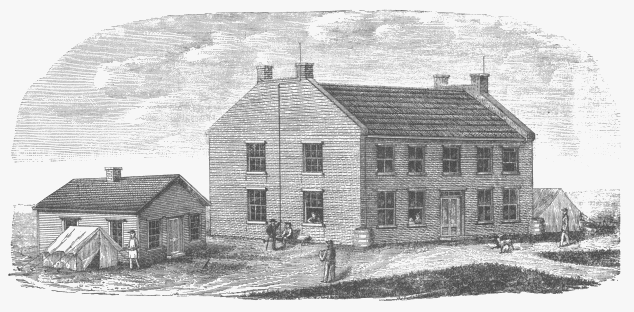 The Nebraska First Territorial Capital was completed in 1855, and is where young Tom Cuming would've governed the Nebraska Territory.