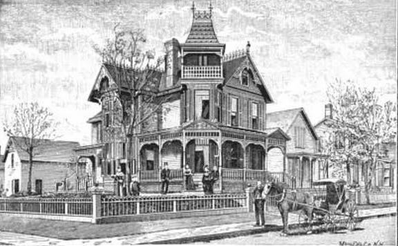 Bailey Mansion, North Omaha, Nebraska