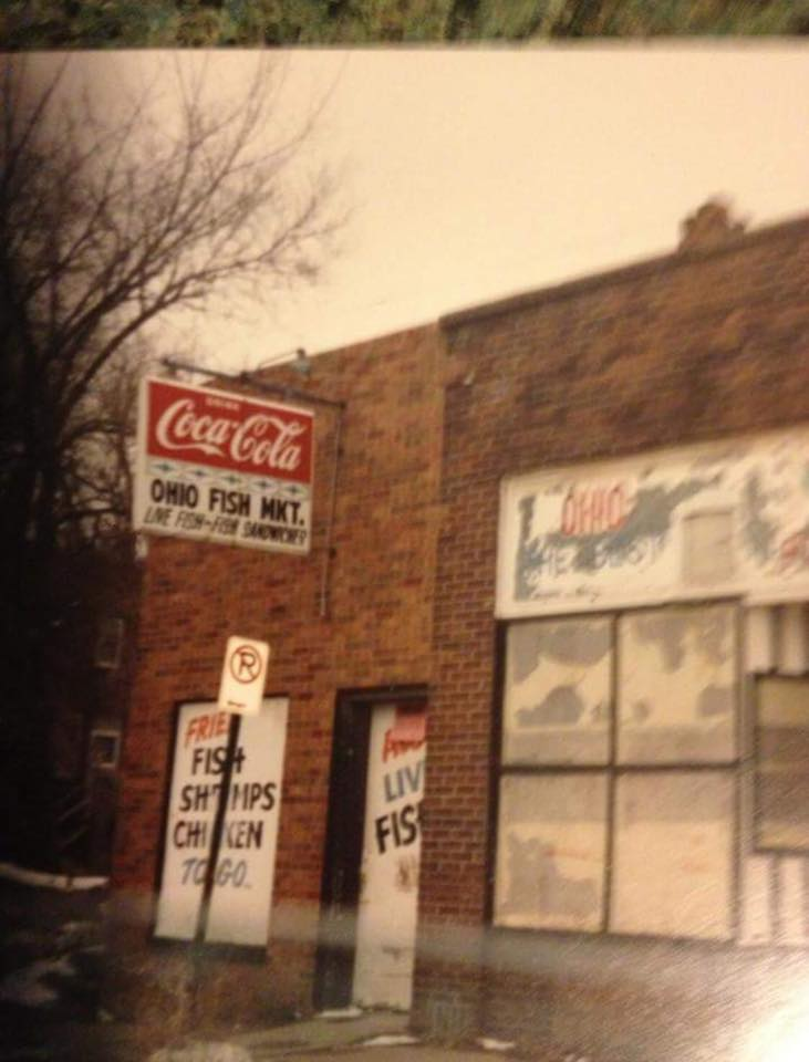 This is a shot of the Ohio Fish Market in the early 1990s from Matt.