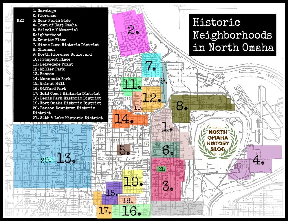 Historic neighborhoods in Omaha by Adam Fletcher Sasse