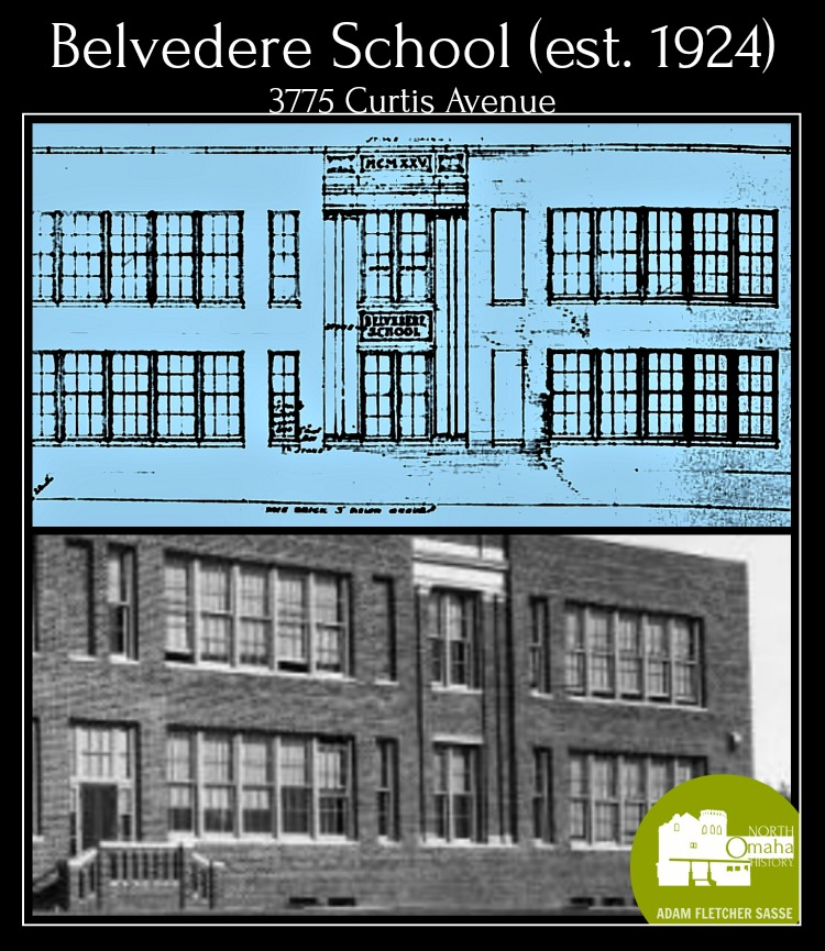 Belvedere School 3775 Curtis Ave North Omaha Nebraska
