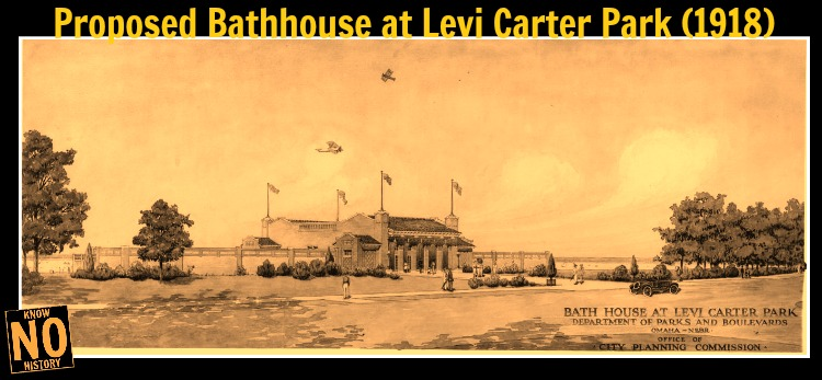 Levi Carter Park Carter Lake Bathhouse, North Omaha, Nebraska