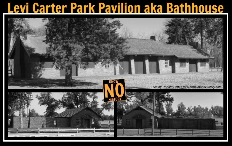 Levi Carter Park Pavilion aka the Carter Lake Bathhouse, North Omaha, Nebraska