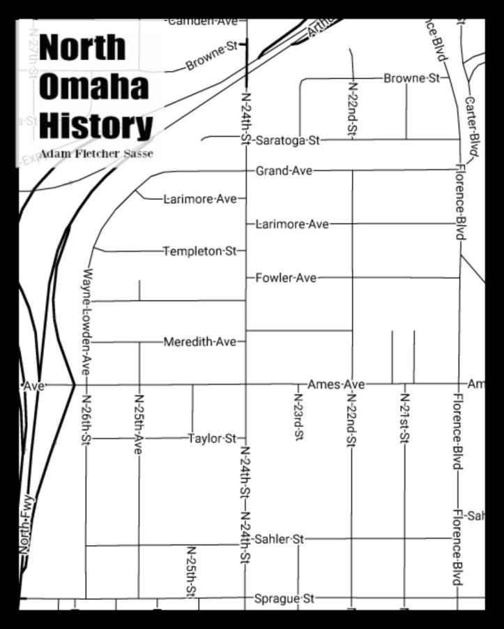 Saratoga neighborhood, North Omaha, Nebraska