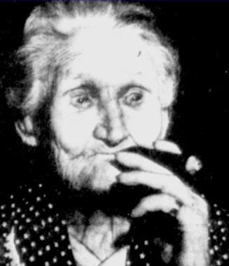 Granny Cornelia Weatherford (c. 1832 - 1940)