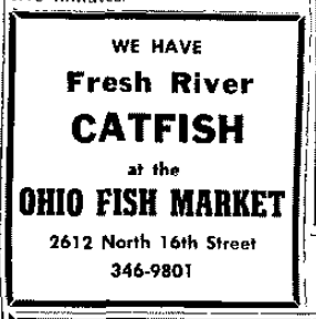 Ohio Fish Market, 2612 North 16th Street, North Omaha, Nebraska