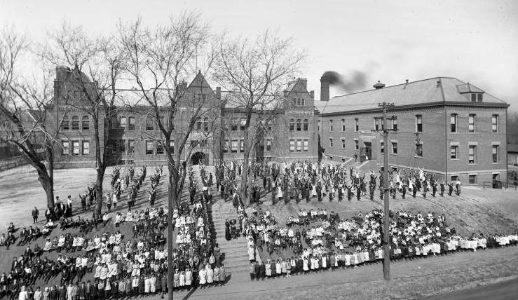 Kellom School, N. 24th and Paul Streets, North Omaha, Nebraska