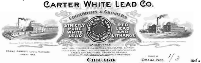 Carter White Lead Co