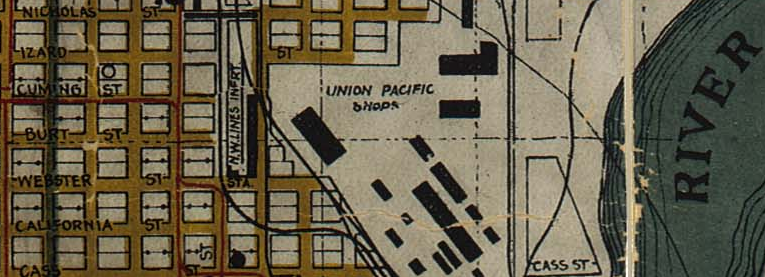 Union Pacific Shops, North 7th and Cuming Street, North Omaha, Nebraska