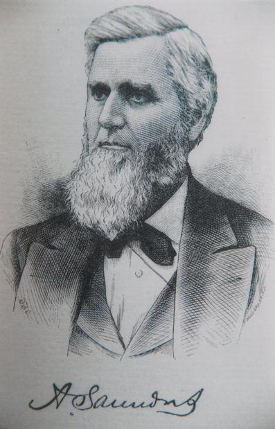 Alvin Saunders portrait