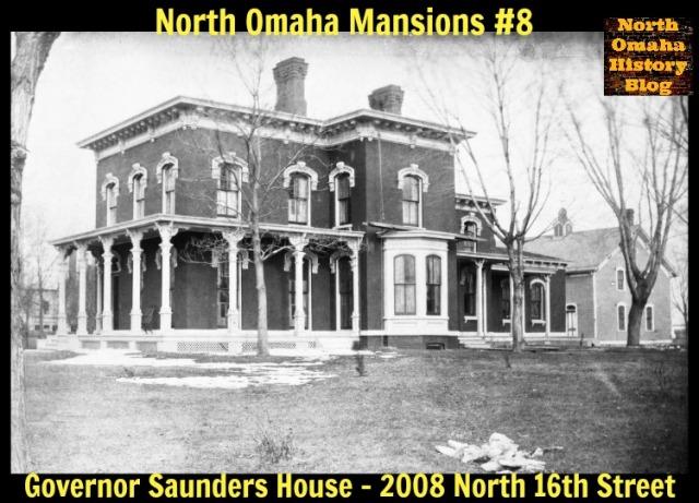 Governor Saunders Mansion, 2008 N. 16th St., North Omaha, Nebraska