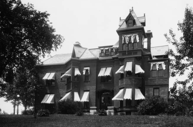 Mercer Mansion, North 40th and Cuming Street, North Omaha, Nebraska