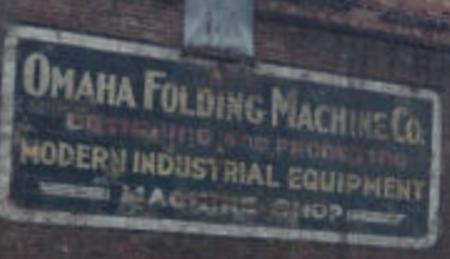 Omaha Folding Machine Company, North 20th and Cuming Street, North Omaha, Nebraska