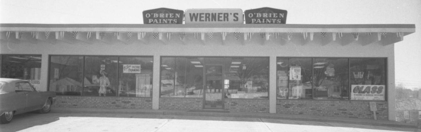 Werner's Paint and Wall Papering, 2222 Cuming Street, North Omaha, Nebraska