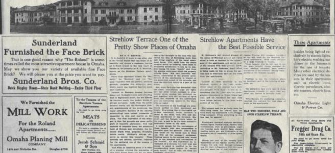 Strehlow Terrace Apartments, North Omaha, Nebraska