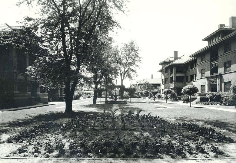 Strehlow Terrace aka Ernie Chambers Court, North Omaha, Nebraska