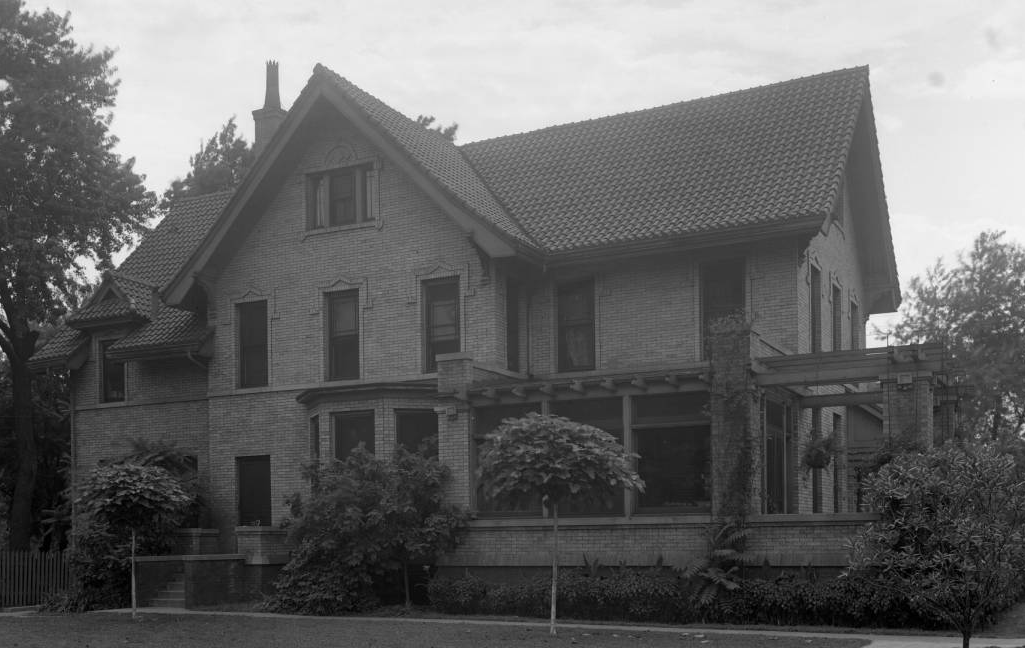 The Strehlow House at Strehlow Terrace, 2024 North 16th Street, North Omaha, Nebraska