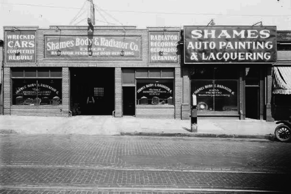 Shames Auto, 1904-08 Cuming Street, North Omaha, Nebraska