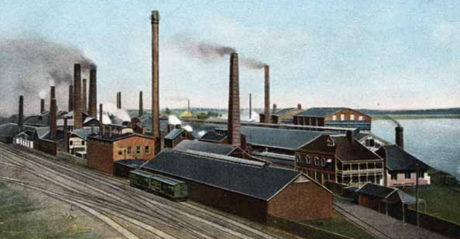 ASARCO Omaha circa 1910, North Downtown Omaha, Nebraska