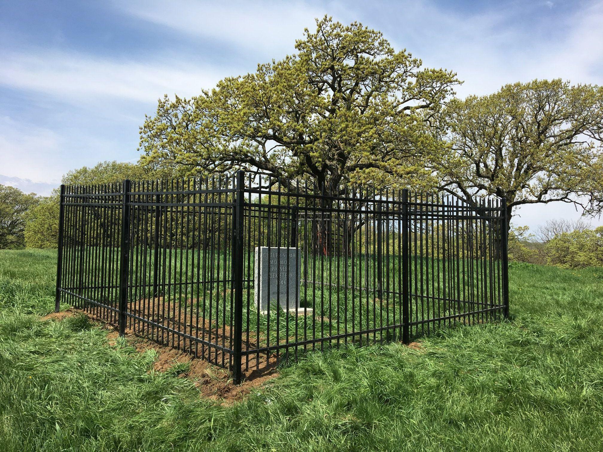 Cutler's Park Cemetery, Mormon Bridge Road, North Omaha, Nebraska